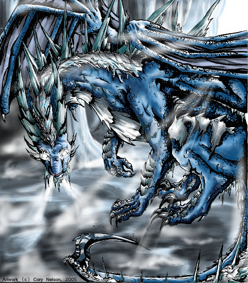 fire and ice dragons.