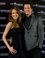 Ioan Grufudd w/ Jessica Alba