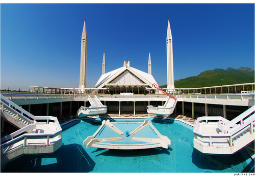 Islamabad's Faisal Mosque - pakistan Photo