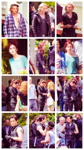 Jamie, Lily, Jemima and Kevin
