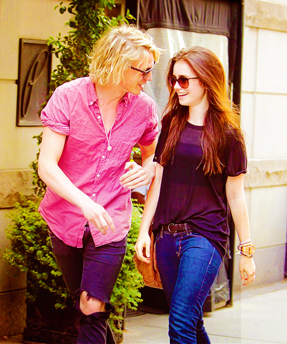 Jamie Campbell Bower 壁紙 containing sunglasses titled Jamie and Lily