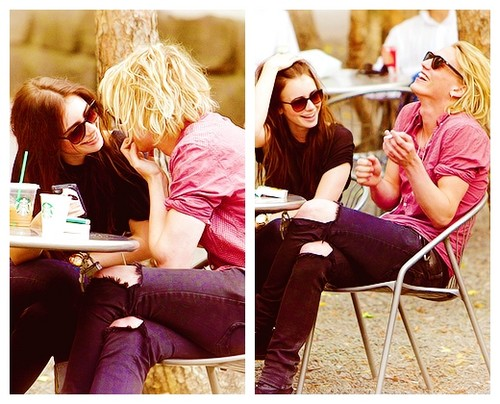 Jamie Campbell Bower wallpaper containing sunglasses titled Jamie and Lily