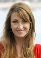 Jane Seymour poses for photgraphers during the 24th MIPCOM in Cannes