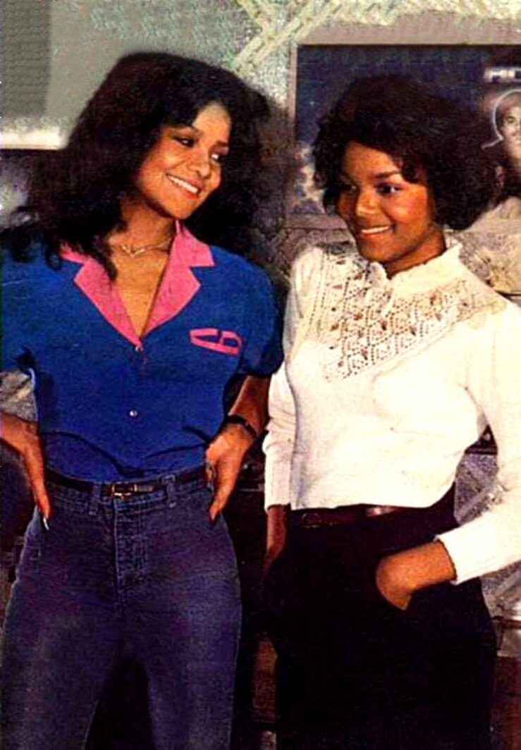 latoya and janet jackson - photo #4