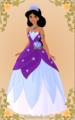 Jasmine as Tiana