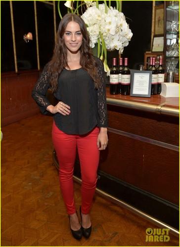 Jessica @ the Clos du Bois Rouge launch party held at Chateau Marmont's Bar Marmont