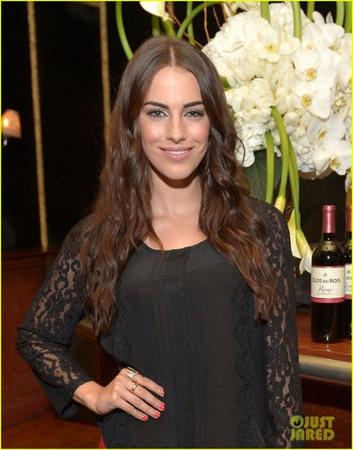 Jessica @ the Clos du Bois Rouge launch party held at lâu đài, chateau Marmont's Bar Marmont