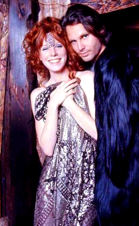 音楽 壁紙 called Jim Morrison and Pamela Courson