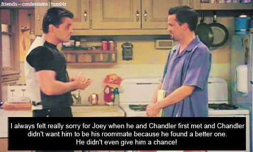 Joey & Chandler fondo de pantalla with a cocina titled Joey and Chandler