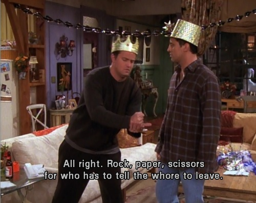 Joey & Chandler wallpaper probably containing a fedora, a boater, and a brasserie entitled Joey and Chandler