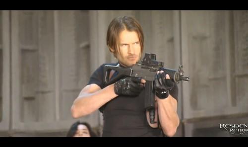 Johann Urb as Leon Kennedy - RE Retribution 2012