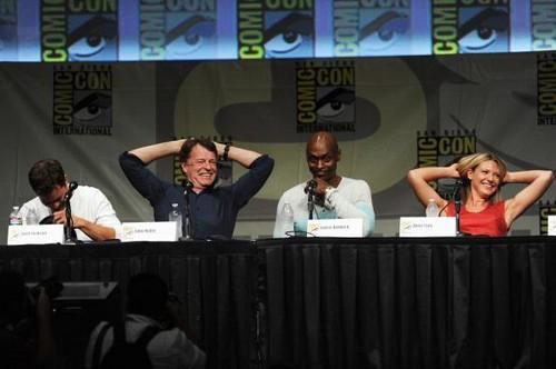 John Noble and Fringe cast