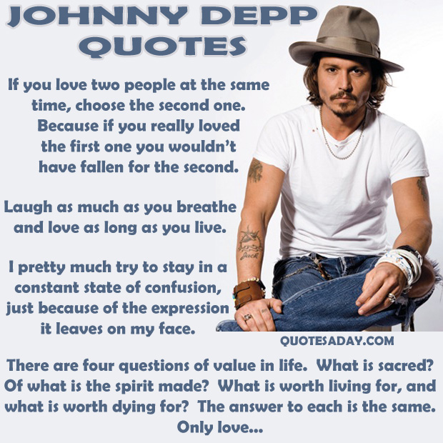 Johnny Depp Quotes On Family. QuotesGram джонни депп цитаты