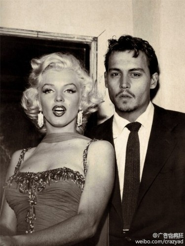 Johnny and Marilyn <3