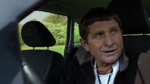 Josef Vana in car