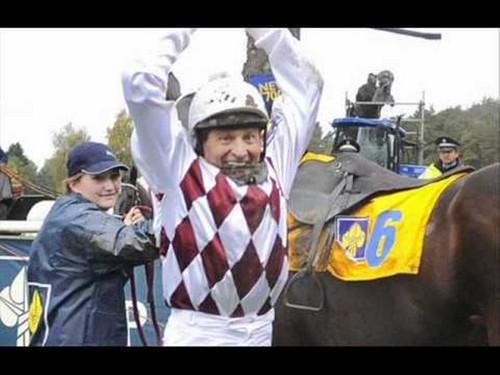 Josef Vana is happy after win in 2009