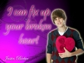 justin-bieber - Justin bieber- One less lonley girl lyrics (in descripton) wallpaper