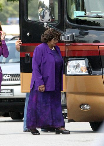 Katherine Jackson in Gary, Indiana NEW August 28th 2012