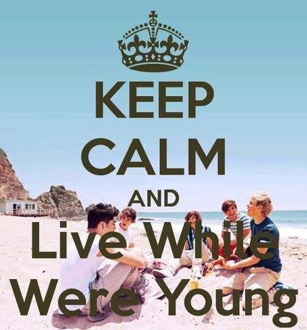 One Direction Fond Decran Called Keep Calm
