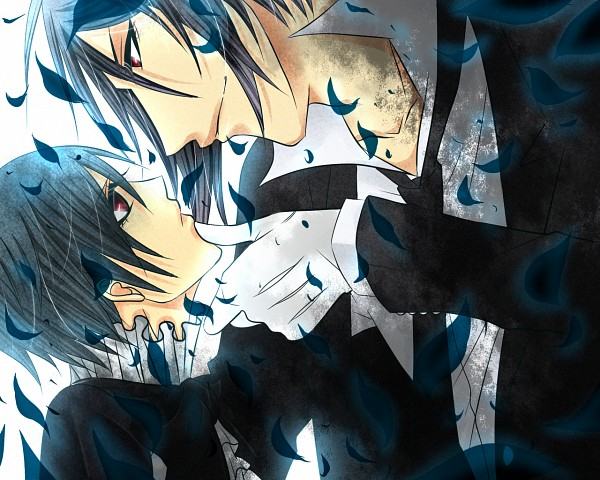 ciel and sebastian kiss - photo #23
