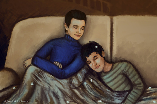 Kurt and Blaine wallpaper titled Klaine