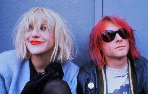 Kurt Cobain & Courtney upendo