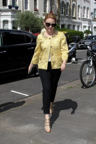 Kylie Minogue in london [August 2, 2012]