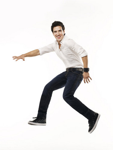 Logan Henderson wolpeyper possibly with a pantleg, bellbottom trousers, and long trousers called LOGAN
