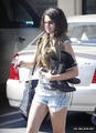 Leaving California Pizza Kitchen in Tarzana, CA w/ friends (August 20, 2012)