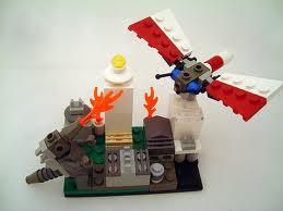 Lego Mothra vs. Lego Godzilla!!