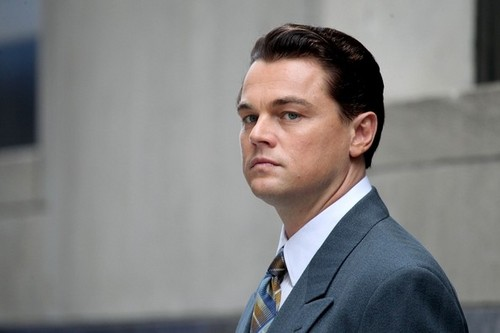 Leonardo DiCaprio On The Set Of 'The भेड़िया Of दीवार Street'