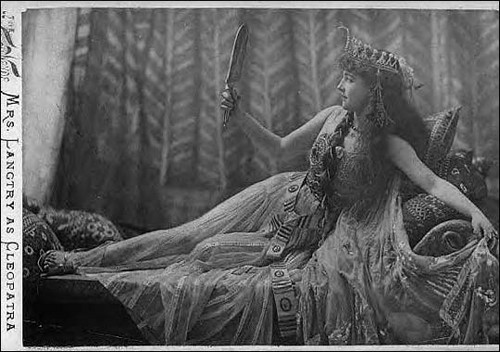 Lily Langtry as Cleopatra, 1891