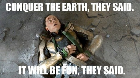 Loki is not amused