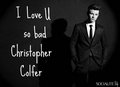Love u Chris Colfer - chris-colfer photo