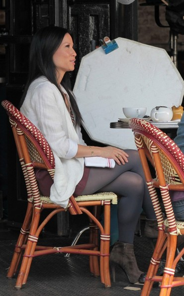 Lucy Liu in New York [August 22, 2012]