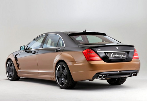 MERCEDES - BENZ S600 LORINSER S70 6.0 V12 BI-TURBO