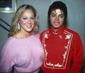 MICHAEL AND DEBBIE IN THE 80s - michael-jackson photo