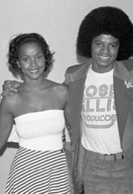 Michael Jackson wallpaper entitled MJ AND MISS UNIVERSE PENNY COMMISSIONG