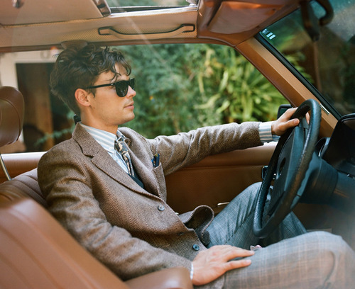 Matthew Gray Gubler wallpaper probably with an automobile called Matthew<3<3