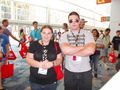 Me and Muscles glasses at Vidcon 2012