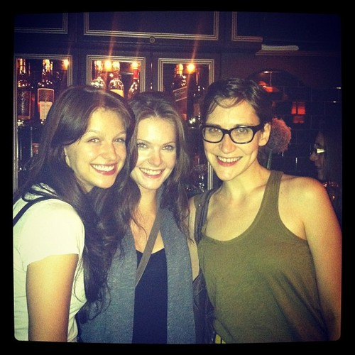 Melissa with friends