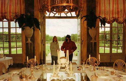 Michael Jackson and Debbie Rowe