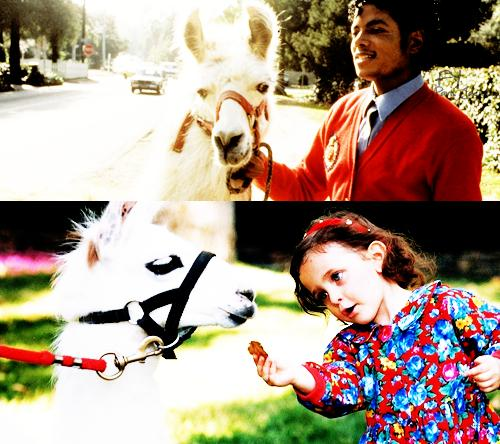 Michael Jackson and his daughter Paris Jackson ♥♥