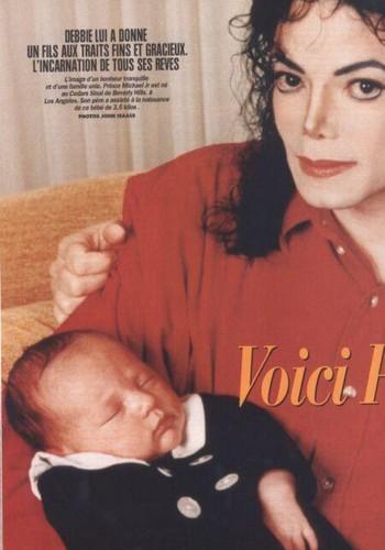 Michael Jackson & baby Prince (RARE)