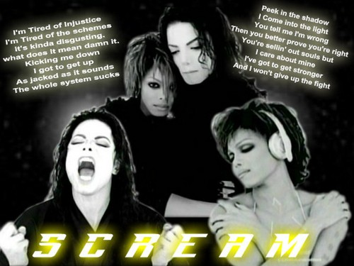 Michael and Janet Jackson SCREAM