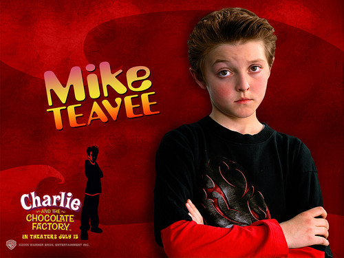 Charlie and the Chocolate Factory achtergrond possibly with a sign and anime entitled Mike Teavee