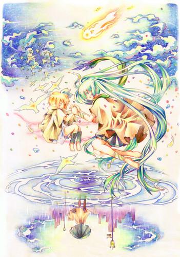 Miku and Rin