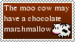 Moo Cow Stamp