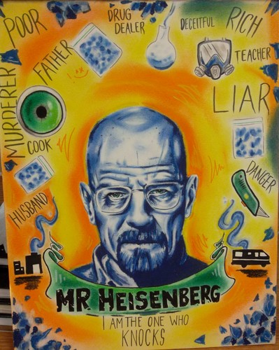 Breaking Bad fondo de pantalla with anime entitled Mr. Heisenberg