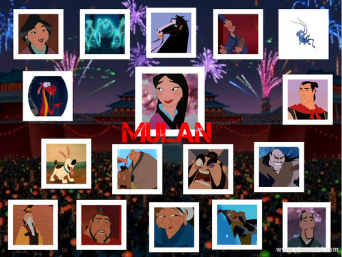 mulan Collage
